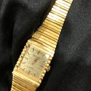 Pierre Cardin 14k Gold Plated Watch